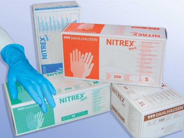 Nitrex Nitril Untersuchungshandschuhe ungepudert 200 Stk. Gr. M