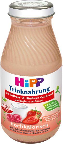 Trinknahrung Hipp Erdbeer & Himbeer hochkalorisch, 6x200ml