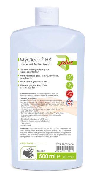 Maimed MyClean Händedesinfektion HB 500 ml 79606 *sofort lieferbar*