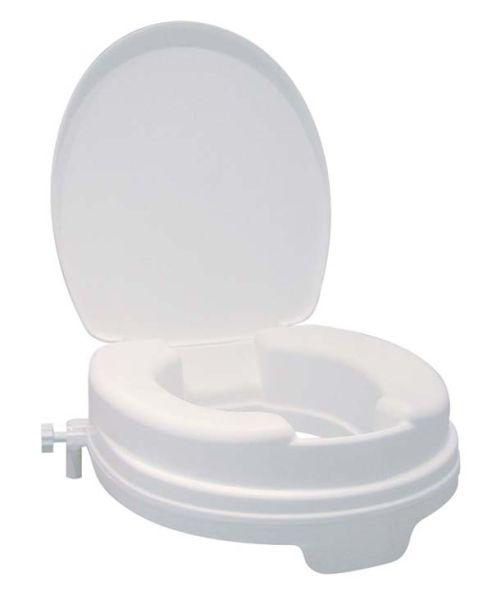 Toilettenerhöher mit Deckel