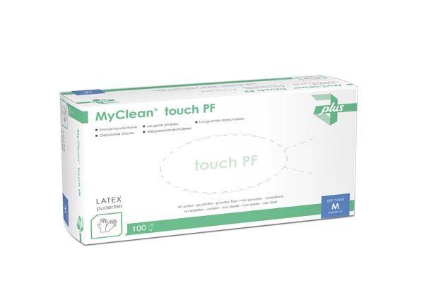 MyCleanTouch Einmalhandschuhe aus Latex