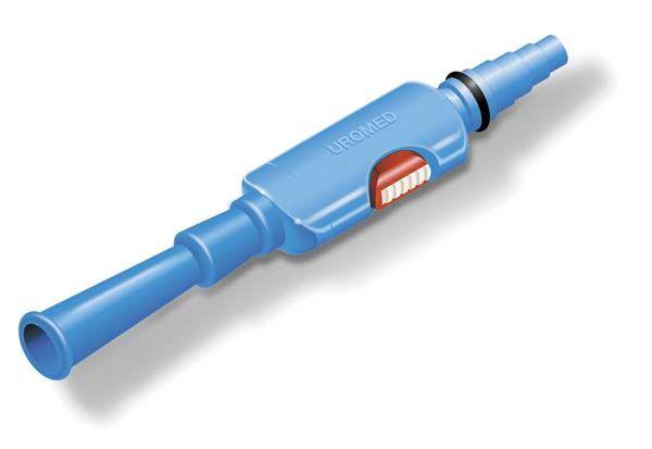 Universal Katheterventil mit Adapter