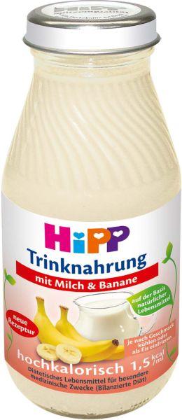 Trinknahrung Hipp Milch & Banane hochkalorisch, 6x200ml