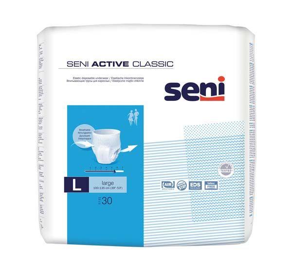Seni Active Classic Large, 90 Stk., elastischer Slip