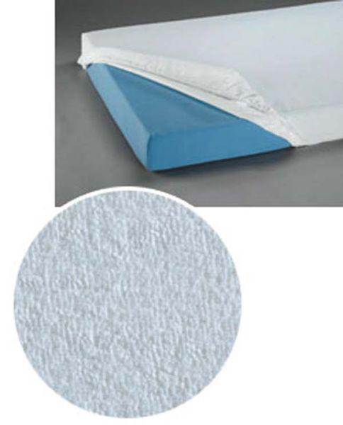 Spannbetttuch wasserfest, aus Frottee, 90x200cm für Pflegebetten geeignet